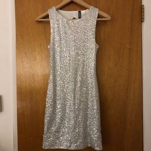 Sequined Mini Dress Sz 4